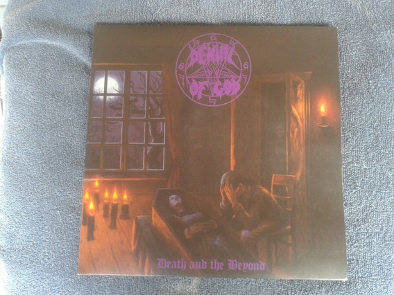 Denial Of God-death And The Beyond Lp(somente Capa Sem Lps!)