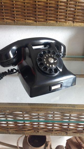 Telefone Antigo Ericsson Baquilite Peça De Museu A + Linda