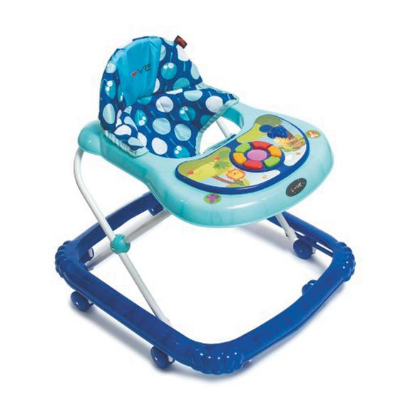 Andador Para Bebés Love Musical 8 Ruedas Azul
