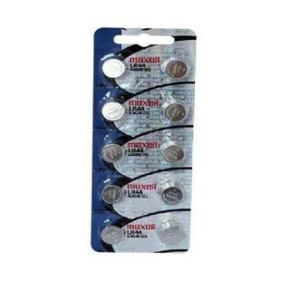 Cartela 10 Baterias Lr44 - Maxell !!!