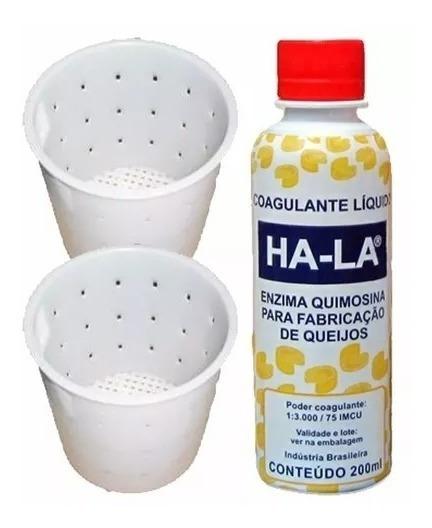 1 Coalho Ha-la Liq. 200ml Queijo 1 Forma 1 Kg 1 Forma 500gr