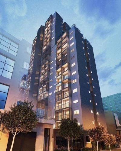 Imagem 1 de 8 de Apartamento Com 1 Dormitório À Venda, 28 M² Por R$ 300.000 - Santa Cecília - São Paulo/sp - Ap64314