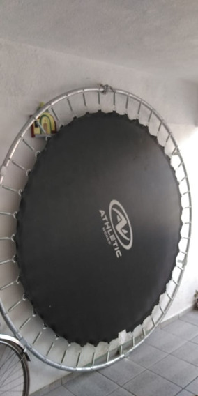 Trampolin Marca Athletic Works 8ft ,