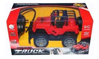 Jeap Camioneta Radio Control Carro Juguete Niños Jt252