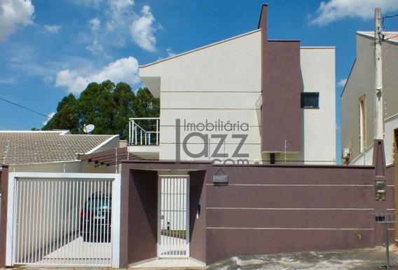 Belíssima Casa Com 3 Dormitórios À Venda, 190 M² Por R$ 830.000 - Jardim Europa Ii - Indaiatuba/sp - Ca4865