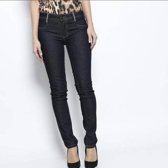 Calça Luxo Lança Perfume Skinny Feminina Jeans Escuro Oferta