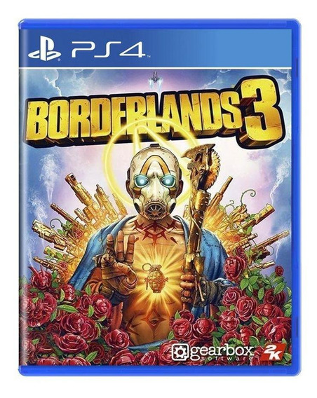 Borderlands 3 Ps4 Mídia Física Pronta Entrega