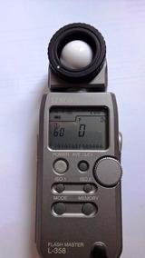 Fotômetro Sekonic L 358 Novíssimo Nikon Canon Disponível