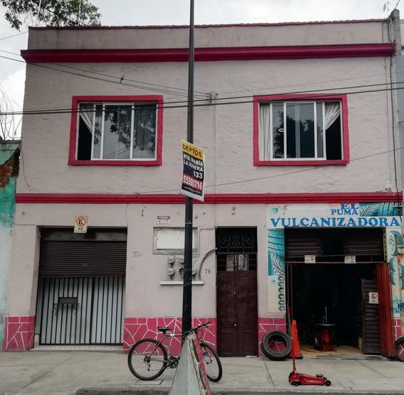 Casa En Venta En Santa María La Ribera. Uso De Suelo Mixto H3