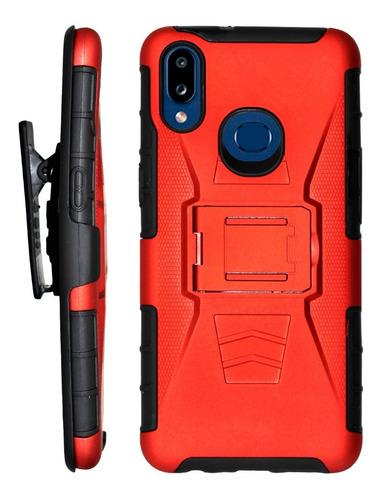 Funda Uso Rudo 3 En 1 Colores Samsung Galaxy A10s