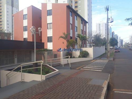Apartamento À Venda, 40 M² Por R$ 150.000,00 - Gleba Palhano - Londrina/pr - Ap0689