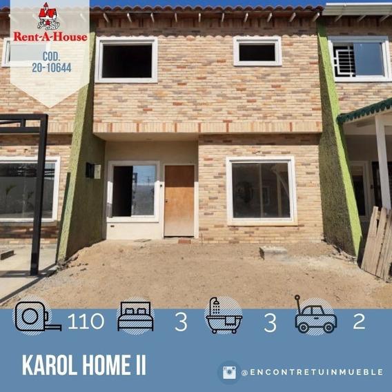 Townhouse En Venta En Maracay, Karol Home Ii 20-10644 Scp
