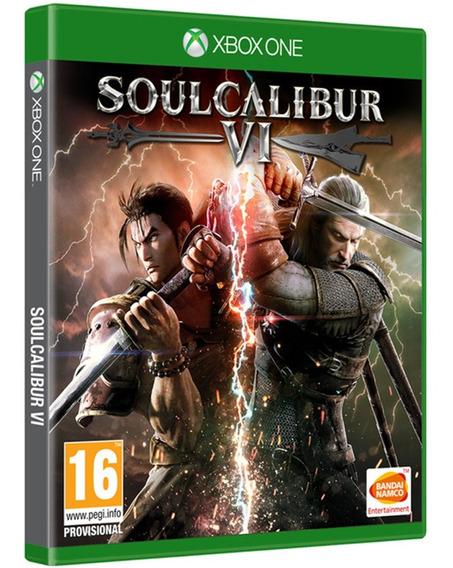 Jogo Soulcalibur 6 Vi Xbox One Midia Fisica Novo Cd Original
