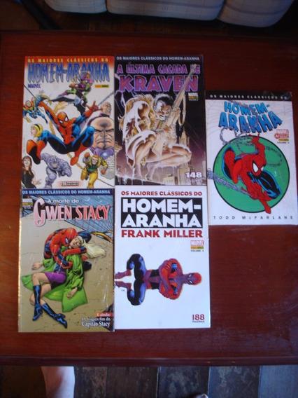 Os Maiores Clássicos Homem-aranha Nºs 1 Ao 5 Edições Panini