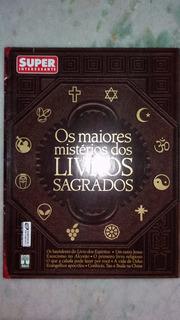 Revista Super Especial Os Maiores Mistérios Livros Sagrados.