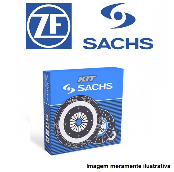 Kit Embreagem Sachs Mb 2013 E 2014 E 2213 Om352 130cv