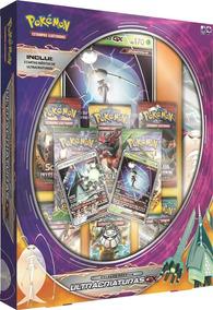 Box Pokémon Ultracriaturas Gx Celestee C/ Playmat Português
