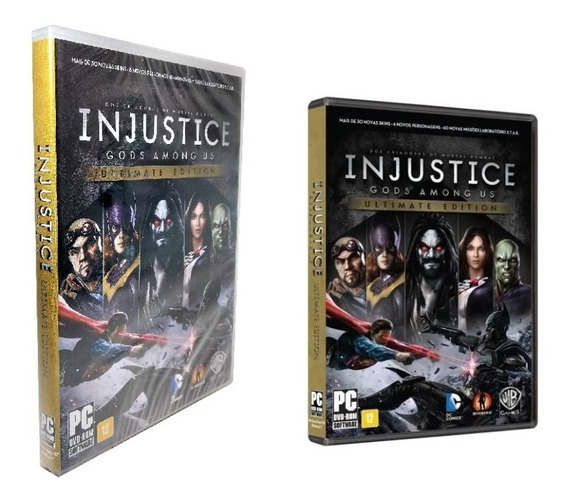 Jogo Injustice Ultimate Edition Liga Da Justiça Pc Game Dvd