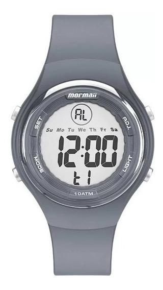 Relógio Mormaii Ref: Mo0600a/8c Digital Cinza Sport Novo