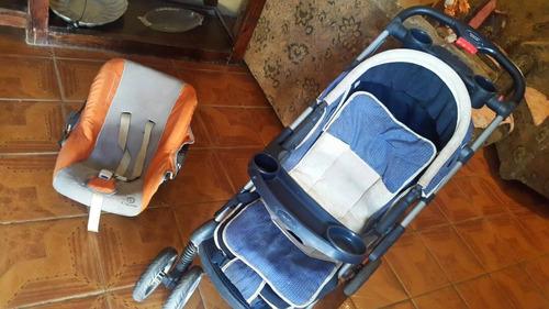 Imagen 1 de 5 de Se Vende Coche Happy Baby Y Porta Bebe Capella