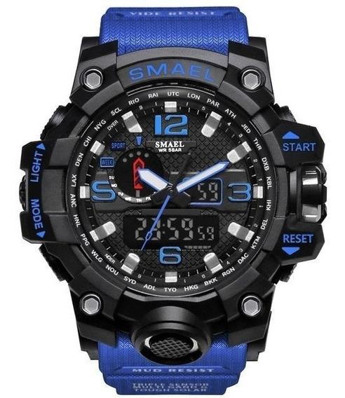 Relógio Masculino Smael 1545 Original S-shock Melhor Preço