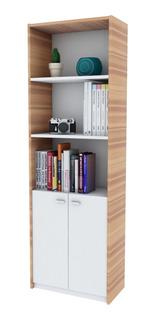 Biblioteca Modular Apoyo Oficina Escritorio C/puertas Moderna + Envió Sin Cargo Capital Federal