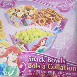 Snack Bowls De Princesas