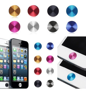 Adesivo Proteção Tecla Home iPhone iPad Sticker Aluminio