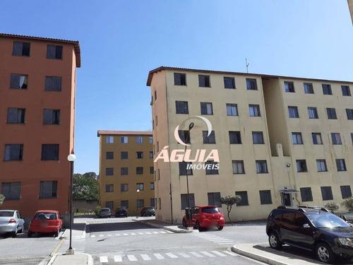 Apartamento À Venda, 45 M² Por R$ 180.000,00 - Parque Das Nações - Santo André/sp - Ap2559
