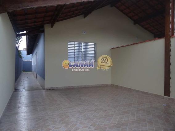 Casa Com 2 Dormitórios À Venda Em Mongaguá !!! Ref. 6726 E