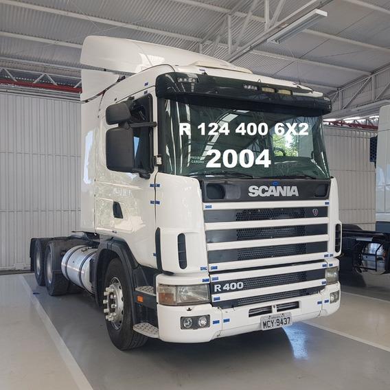 Scania R124 400 6x2 Com Defletor
