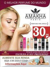 Executivo Amakha Paris Perfumes - Cadastro Grátis