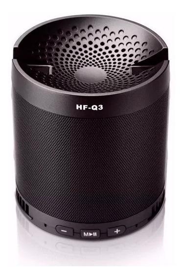 Caixa De Som Hf-q3 Portatil Mp3 Entrada Usb Pen Drive Radio