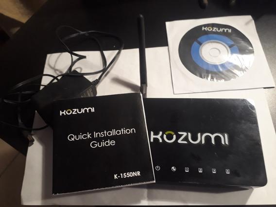 Kozumi 150mbps Router Wireless K-1550nr 4 Puertos Ethernet