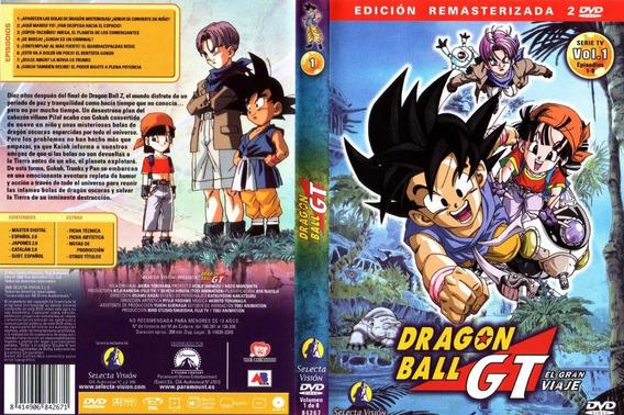 Coleção Dragon Ball Gt Completa Dublada Oficial