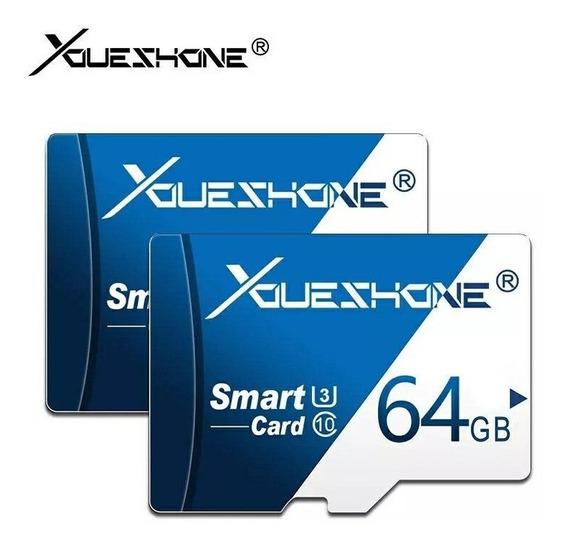 Cartão De Memória Micro Sd 64gb Original Flash Tf Cartão