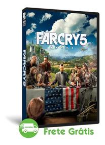 Far Cry 5 Pc Português Mídia Física Atualizada ( Dvd )