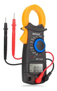 Alicate Amperimetro Digital 600v 200a 1200hz 200kohm Cabos