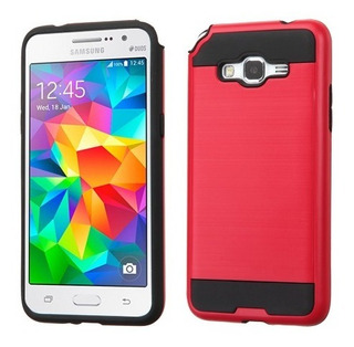 Samsung Galaxy Grand Prime Y Prime Plus Funda Brush Resisten