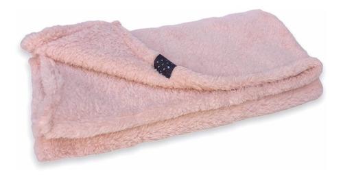 Manta Corderito Perros Y Gatos. Color Rosa Dior. Simple Pet