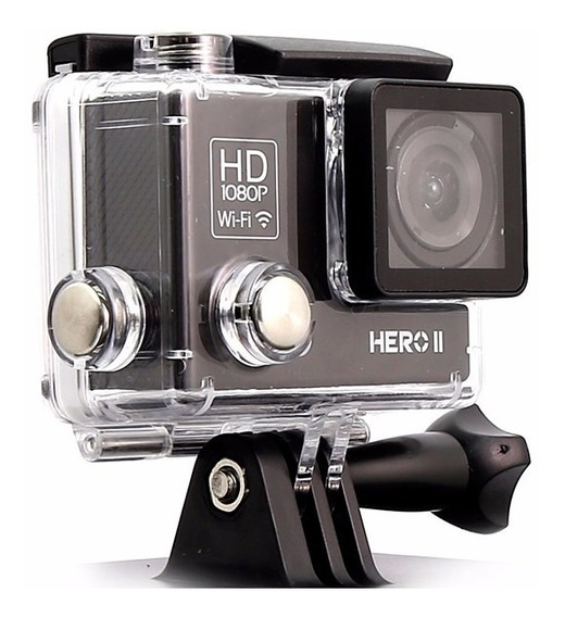 Camera Goal Pro Hero Ii Black Lcd Full Hd Wifi + 32gb Clas10