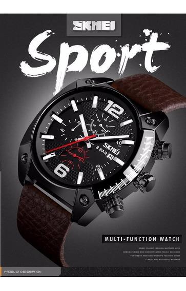 Relógio Skmei 9190 Multifuncional Moderno Luxo