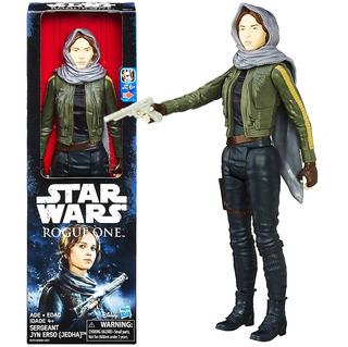 Star Wars Fig Articulada 30cm Sergeant Jyn Erso Mundo B3908