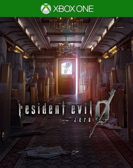 Resident Evil 0 Xbox One - 25 Dígitos (envio Flash)