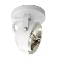 Kit C/18 Spot Branco Para 1 Lâmpada Ar111 - Usados