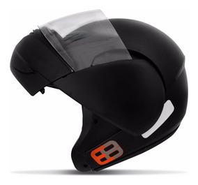 Capacete Moto Articulado/escamoteavel Robocop Ebf Tam 60