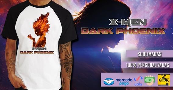 Remeras Dark Phoenix X-men Cine - Series - Gaming