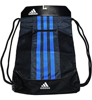 Morral adidas Fat Stripes Il Black/blue