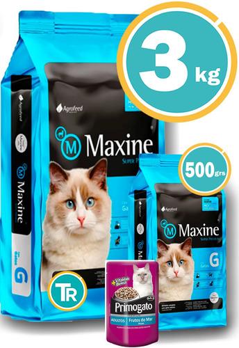Imagen 1 de 7 de Ración Para Gato - Maxine Adulto 3kg