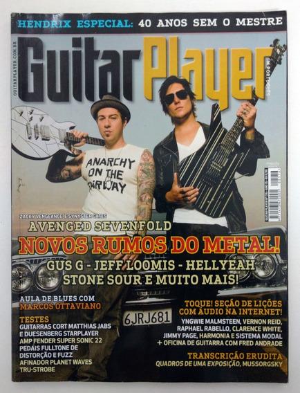 Revista Guitar Player N° 176 Ano 15 Avenged Sevenfold Zacky